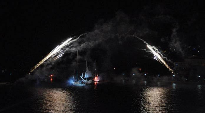 Ναυαρίνεια 1827 - Αναπαράσταση Ναυμαχίας - Πύλος