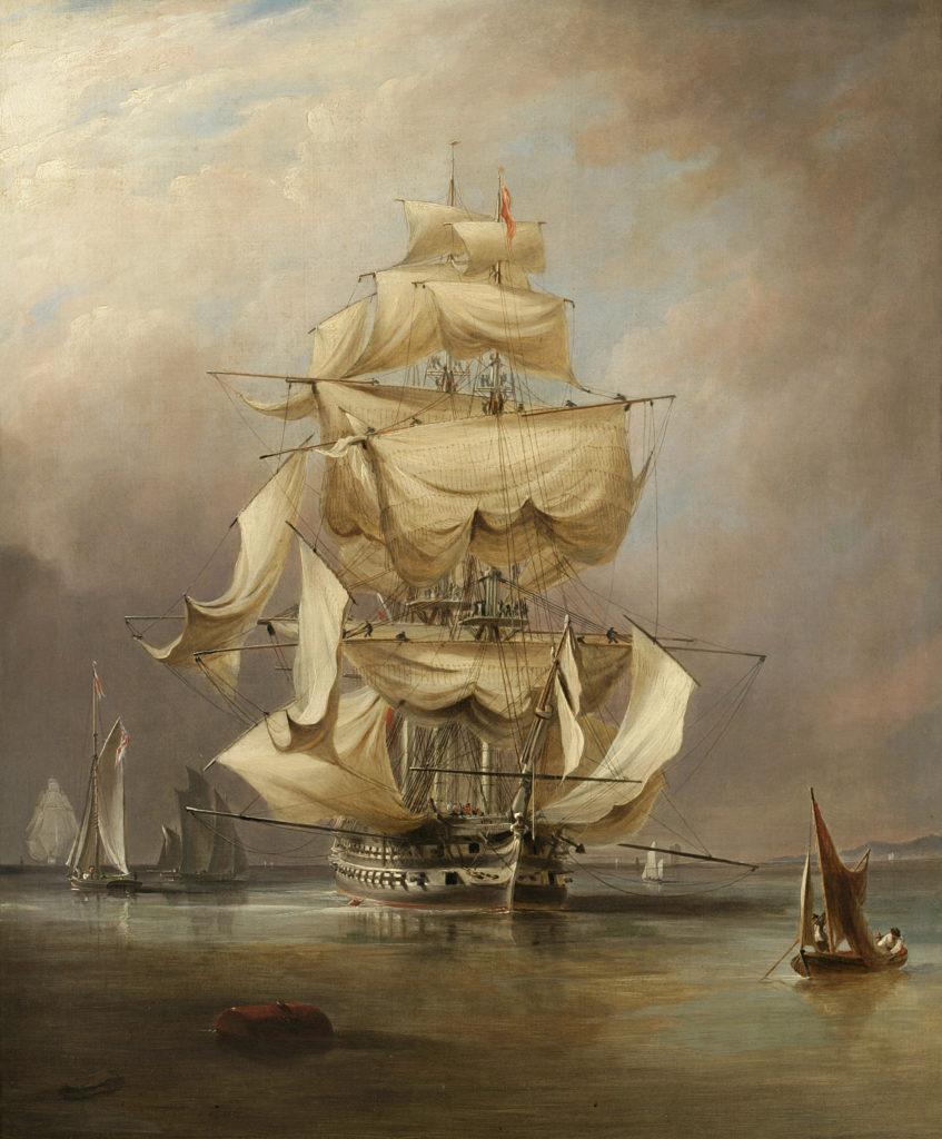 Ναυαρίνεια - Βρετανική ναυαρχίδα Asia