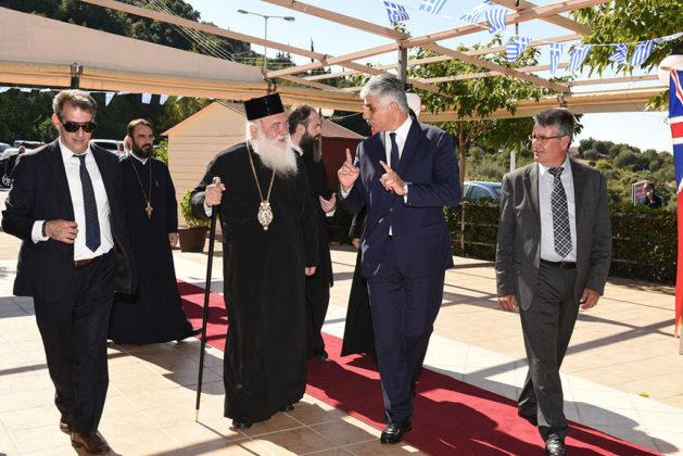 Ναυαρίνεια - Επίσκεψη του Αρχιεπισκόπου Ελλάδος Μακαριώτατου Ιερώνυμου
