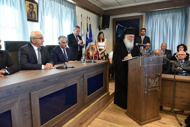 Ναυαρίνεια - Ομιλία του Αρχιεπισκόπου Ελλάδος Μακαριώτατου Ιερώνυμου