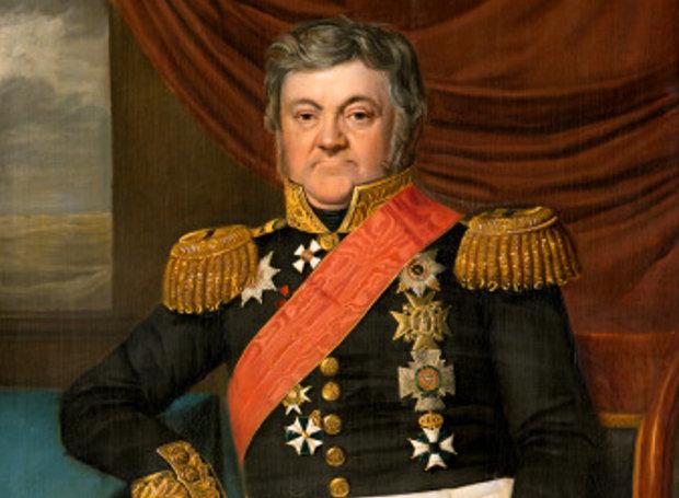 Ναυαρίνεια - Ο Ρώσος ναύαρχος Lodewijk van Heiden