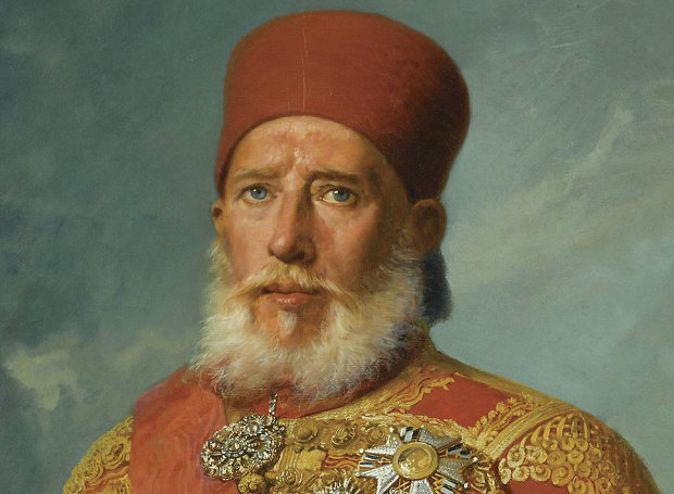 Ναυαρίνεια - Ο επικεφαλής των Αιγυπτίων Ibrahim Pasha