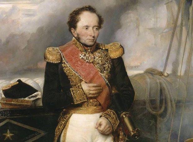 Ναυρίνεια - Ο Γάλλος ναύαρχος Henri de Rigny